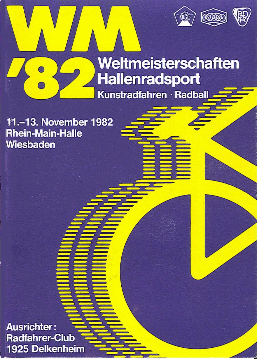 Weltmeisterschaft im Hallenradsport 1982